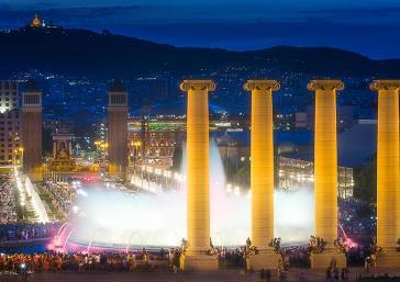 Fonte mágica de Barcelona