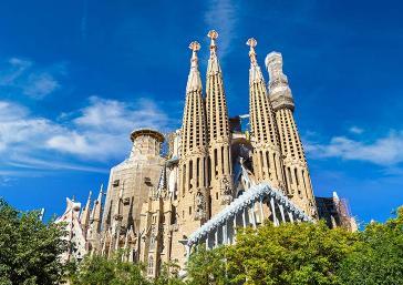 Visita à Sagrada Família de Barcelona