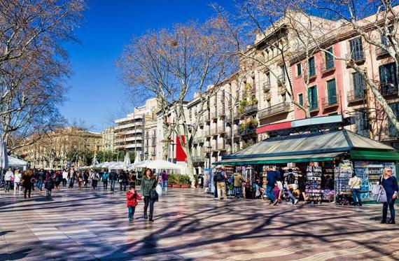 Rambla of Barcelona